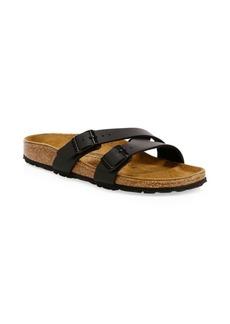 Birkenstock Women's Yao Crossover Double-Strap Slide Sandals