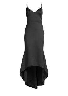 Black Halo Armelle Sleeveless High-Low Dress