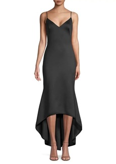 Black Halo Armelle Sleeveless High-Low Dress