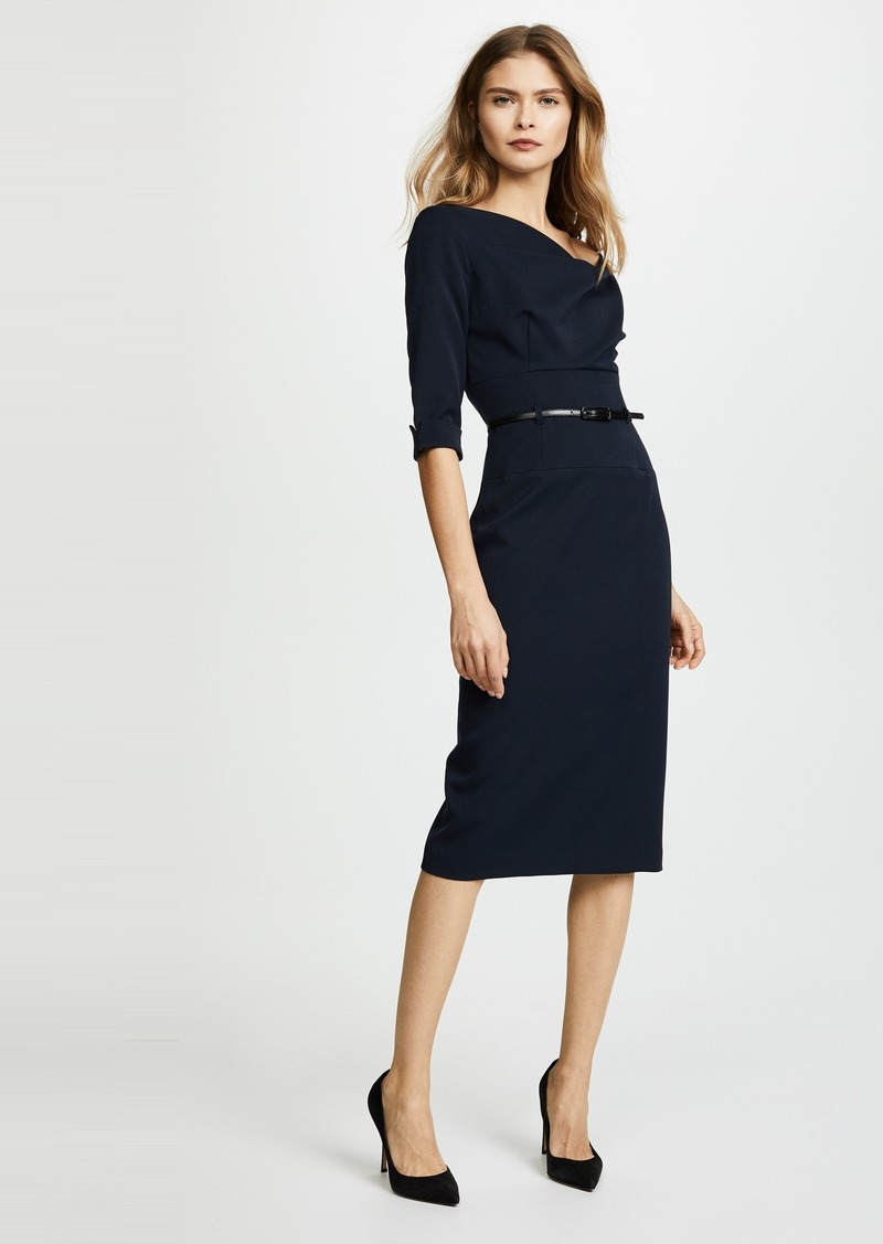 5c713b53368 Black Halo Black Halo 3 4 Sleeve Jackie O Dress