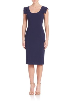 Black Halo Amelie Sheath Dress