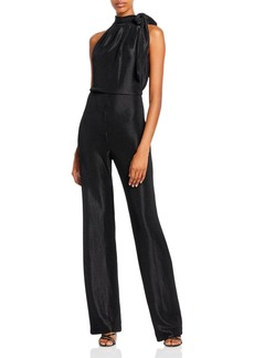 Black Halo Audrey Tie Neck Jumpsuit