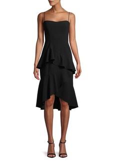 Black Halo Barbados Crepe Dress