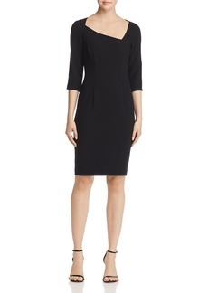 Black Halo Derek Asymmetric Dress