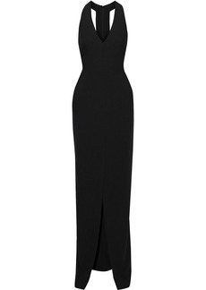 Black Halo Eve By Laurel Berman Woman Raelyn Stretch-crepe Gown Black