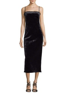 Black Halo Constance Velvet Cocktail Dress