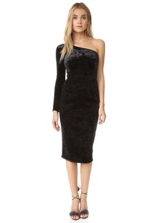 Black Halo Fonda Velvet Dress