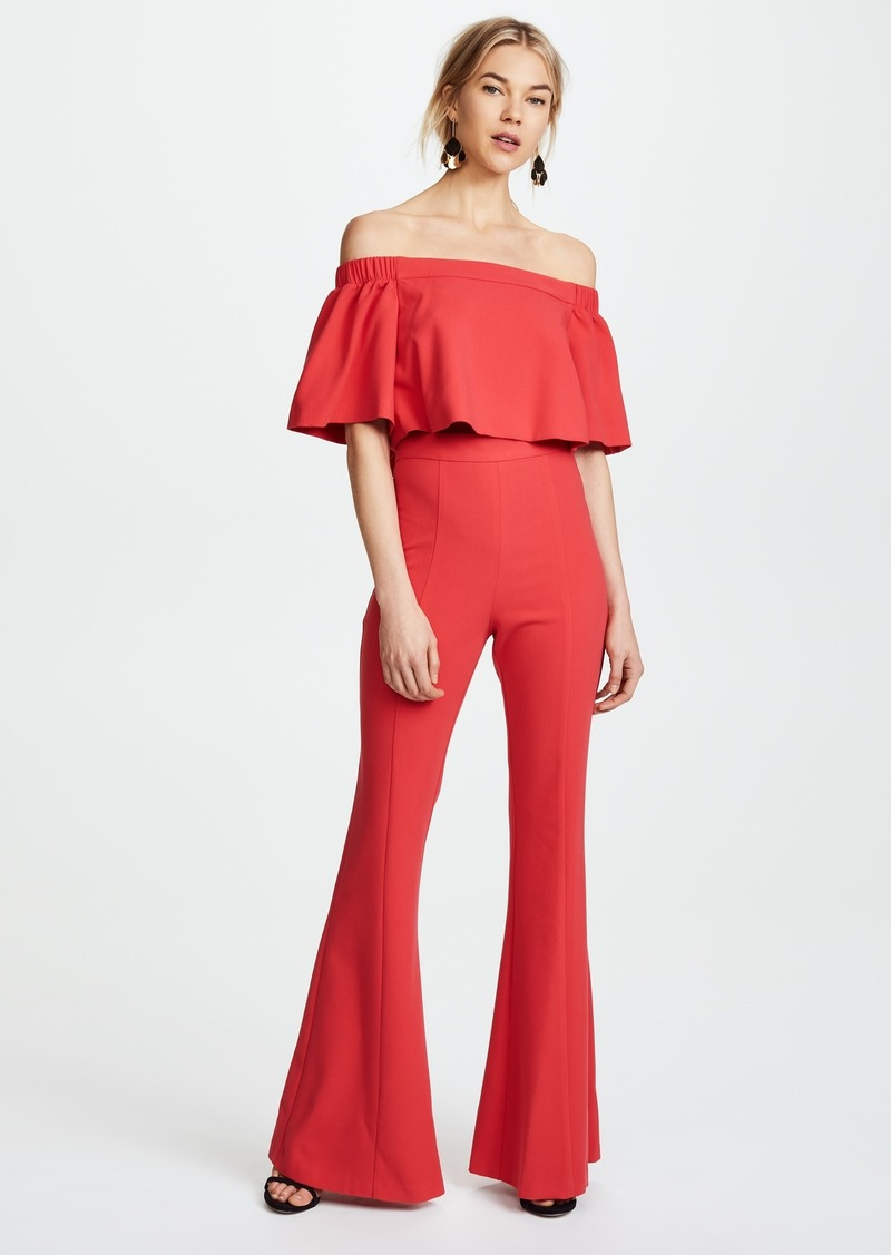 e2c309a2db2 Black Halo Jackie Jumpsuit Red