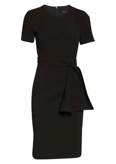 Black Halo Harbor Sheath Dress