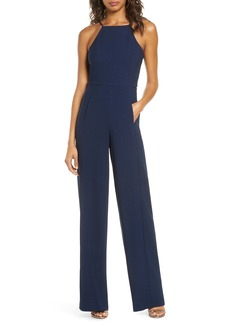 Black Halo Joaquin Halter Neck Jumpsuit