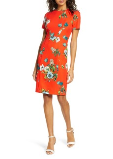 Black Halo Jodee Floral Cocktail Dress