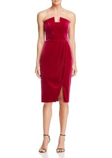 Black Halo Jolie Velvet Dress