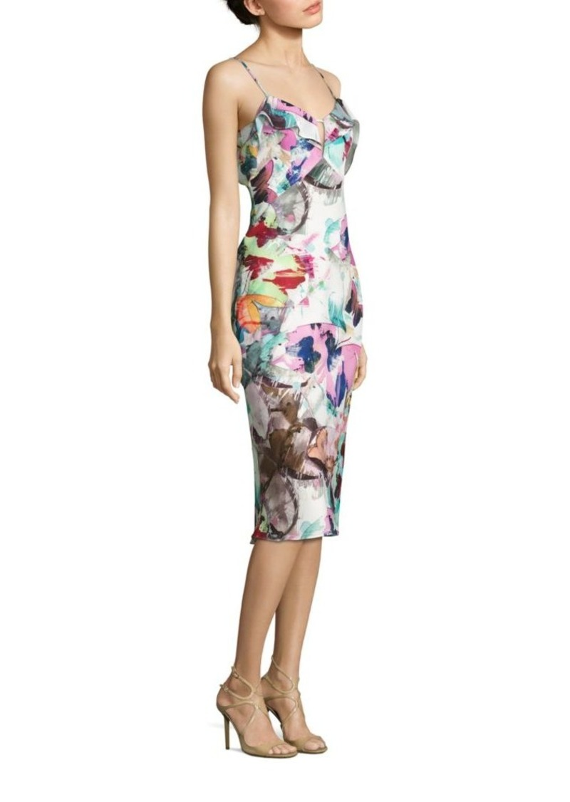 492b10db Black Halo Lolah Butterly-Print Dress | Dresses