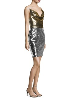 Black Halo Lucy Sheath Dress