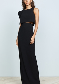 Black Halo Maple Two Piece Maxi Dress