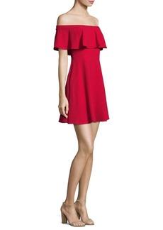 Black Halo Penelope Wildfire Mini Dress