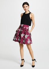 Black Halo Sanibel 2 Piece Mini Dress