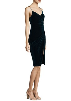 Black Halo Bowery Spaghetti Strap Sheath Dress