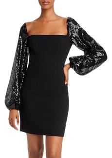 Black Halo Tiana Mini Dress