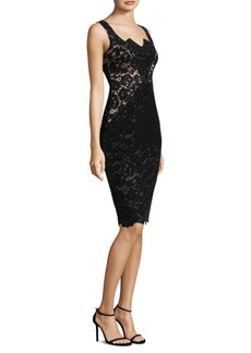 Black Halo Valentine Sheath Dress