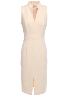 Black Halo Woman Antoinette Split-front Crepe Dress Blush