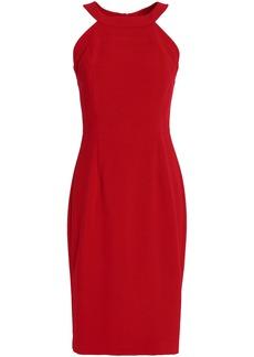 Black Halo Woman Marcelle Ponte Dress Crimson