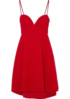 Black Halo Woman Mcadam Cady Mini Dress Red