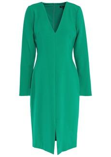Black Halo Woman Sambora Split-front Cady Dress Jade