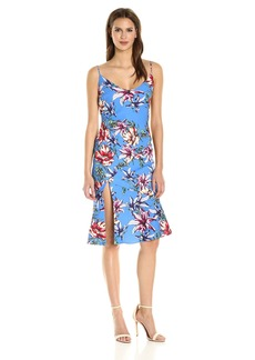 Black Halo Women's Aloma Floral Slip Dress