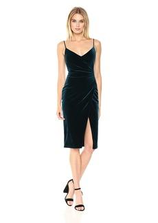 Black Halo Women's Bowery Velvet Sheath Dress