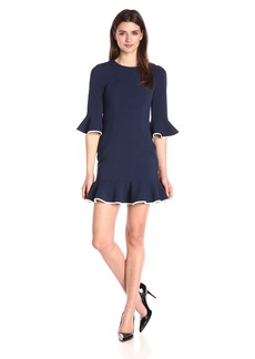 Black Halo Women's Brooklyn Cb Piping Dress