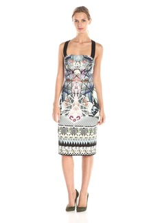 Black Halo Women's Bryson Printed Sheath Dress