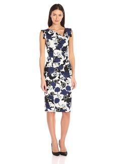 Black Halo Women's Floral Jackie O Dress