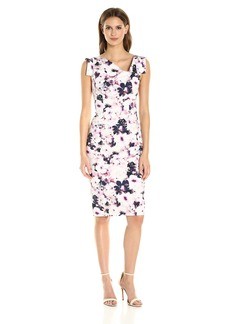 Black Halo Women's Floral Printed Jackie O Dress