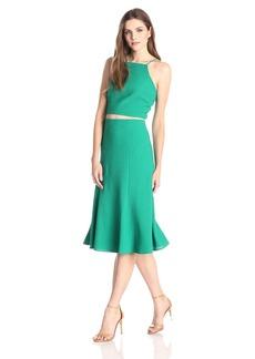 Black Halo Women's Halter 2 Piece Dress