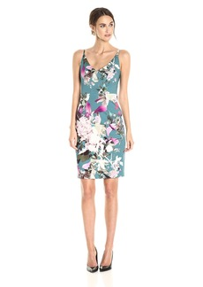 Black Halo Women's Jevette Floral Sheath Dress
