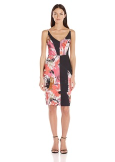 Black Halo Women's Judy Floral Sheath Dress