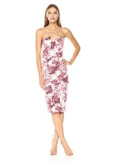 Black Halo Women's Lena Floral Sheath Dress