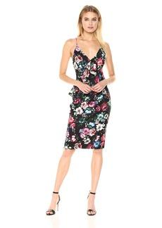 Black Halo Women's Leni Floral Sheath Dress