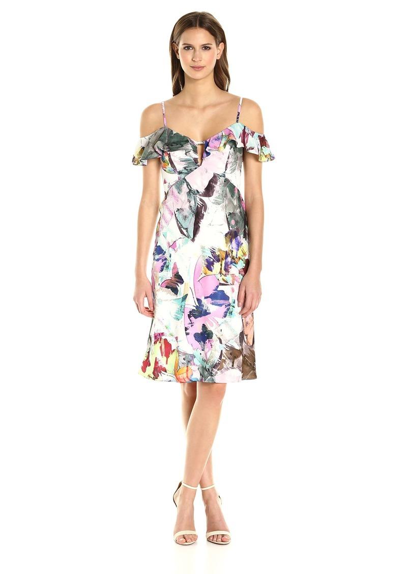 Black Halo Women's Lolah Floral Slip Dress