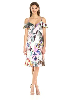 Black Halo Women's Lolah Floral Slip Dress