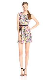 Black Halo Women's Marina Sleeveless Floral  Dress