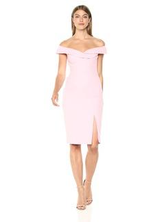 Black Halo Women's Off The Shoulder Hepburn Sheath Dress