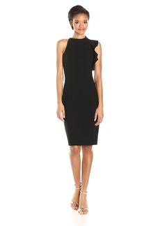 Black Halo Women's Pabla Sheath Dress Black