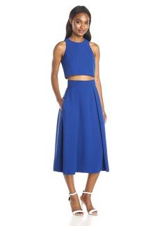 Black Halo Women's Sanibel 2 Piece Full Skirt Dress