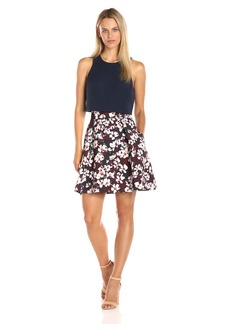 Black Halo Women's Sanibel Mini Dress
