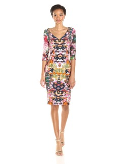Black Halo Women's Sherilyn Printed Sheath Dress