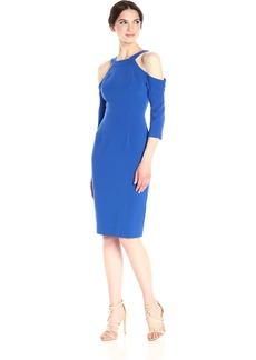 Black Halo Women's Thorpe Cold Shoulder Sheath Dress