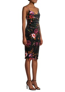 Black Halo Bowery Floral Dress