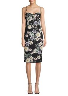 Black Halo Clover Knee-Length Dress
